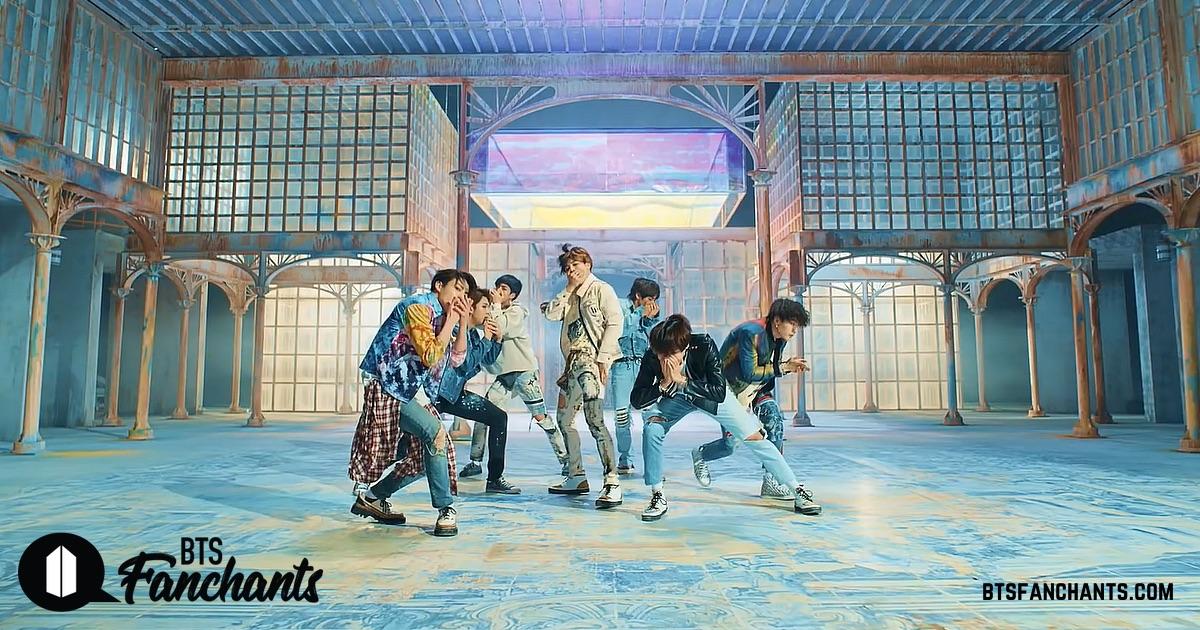 aedf0283b5e38 BTS Fake Love fanchant - interactive lyrics and fan chants - BTS Fanchants