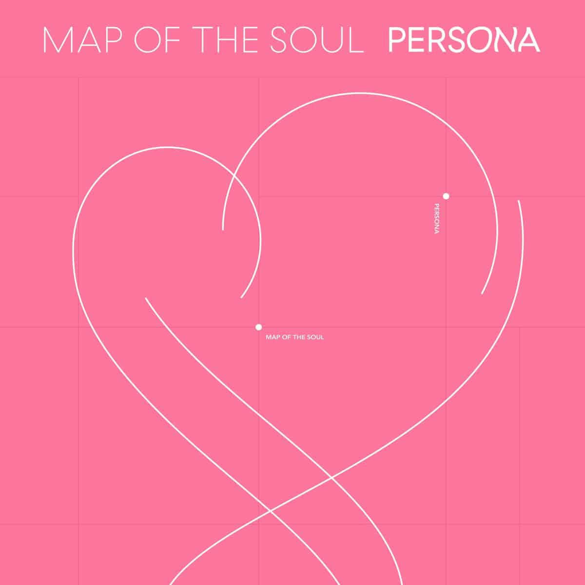 album cover for Map of the Soul: Persona