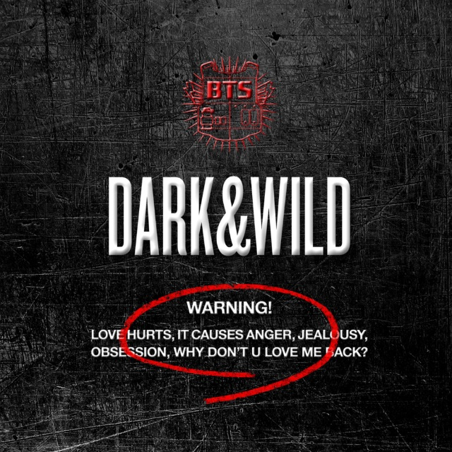 album cover for Dark & Wild
