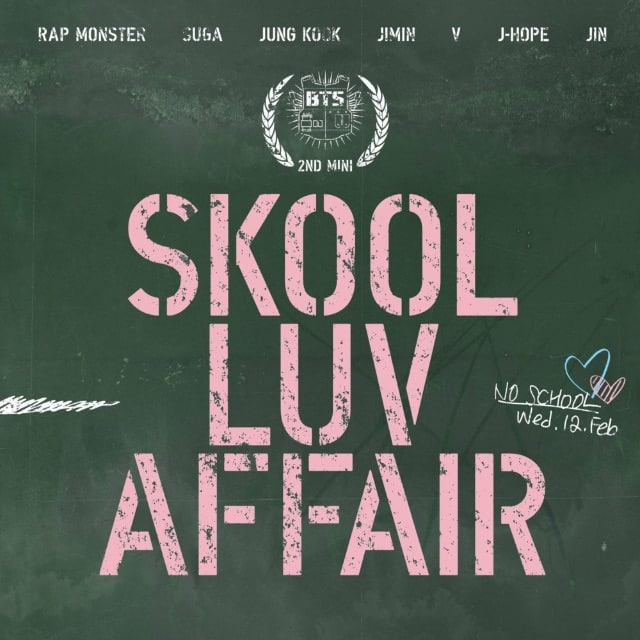album cover for Skool Luv Affair